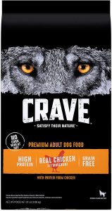 CRAVE Grain Free High Protein Adult Dry Dog Food, Beef & Chicken $42.66