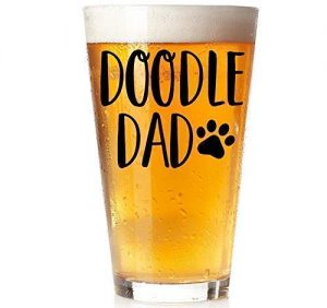Doodle Dad 16 ounce Pint Glass