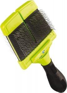 Furminator Slicker Brush with Hard Bristles
