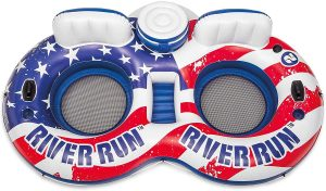 Intex River Run Double inflatable American Flag River Tube