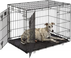 Life Stages Double Door Folding Puppy Crate