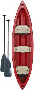 Lifetime Kodiak Canoe with Paddles
