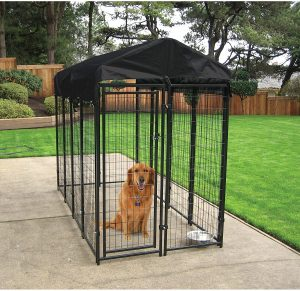 Lucky Dog Heavy Duty Welded Wire Kennel