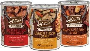 Merrick Chunky BBQ Grain-Free Wet Dog Food Variety Pack
