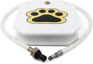 Piepea Brass Valve Outdoor Dog Water Fountain