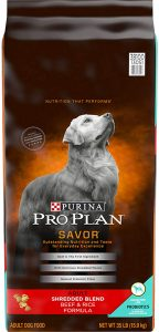 Purina Pro Plan with Probiotics Shredded Blend High Protein, Digestive Health Adult Dry Dog Food $45.78