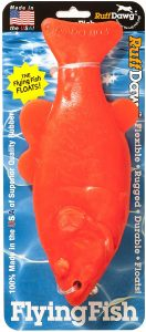 Ruff Dawg Flying Fish Neon Floating Toy