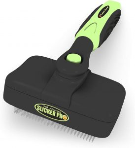 The Pet Portal Self Cleaning Slicker Brush