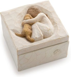 Willow Tree True Sculpted and Hand Painted Keepsake Box