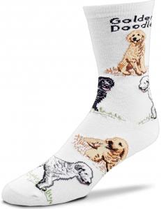 goldendoodle gift socks