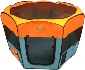 Fabulous Pet Portable Inside Dog Playpen with Floor