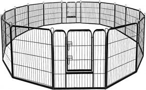 Giantex Heavy-Duty Dog Playpen Indoor/Outdoor