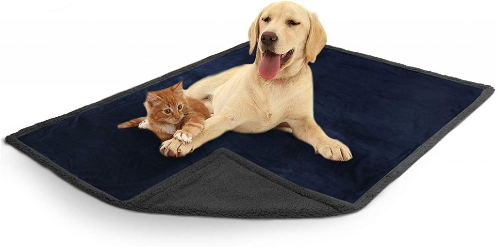 PetAmi Waterproof Dog Blanket for Bed, Couch $26.99