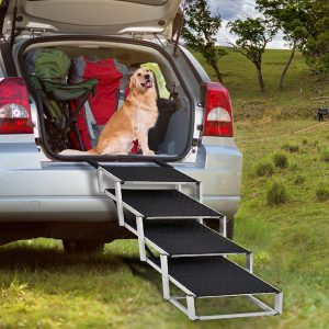 Portable Folding Dog Stairs for Large Dogs