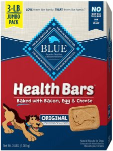 Blue Buffalo Health Bars Mini Natural Dog Treat Biscuits