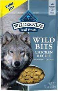 Blue Buffalo Wilderness Training Treats High Protein