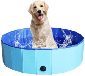 NHILES Portable Dog Swimming Pool