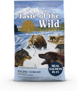 Taste of the Wild High Protein, Real Fish, Premium Dry Dog Food with Real Salmon, Superfoods, Probiotics, and Antioxidants