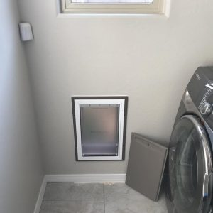 cold weather dog doors for walls