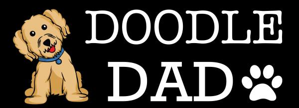 doodle dad sticker