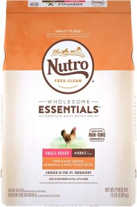 Nutro Wholesome Essentials Natural Adult Dry Dog Food for Small & Toy Breeds .76