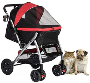HPZ Pet Rover Premium Heavy Duty Stroller