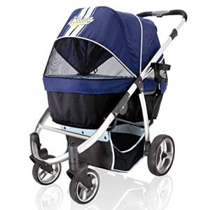 Ibiyaya Double Dog Stroller B073RJZQGP