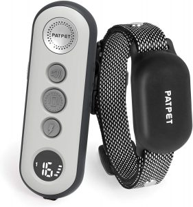 PATPET 2 In 1 Dog Training Collar w/3 Safe Training Modes, Rechargeable IPX7 $47.59