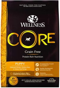 https://www.amazon.com/Wellness-CORE-Natural-Grain-12-Pound/dp/B007M0J9X0/ref=sr_1_4?crid=KC3LSNEP4CK2&dchild=1&keywords=wellness+core+puppy+food&qid=1606769373&s=pet-supplies&sprefix=WELLNESS+CORE+PUPPY%2Cpets%2C190&sr=1-4