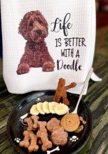 peanut butter banana dog treats homemade