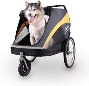 Ibiyaya Hercules Heavy Duty Large Pet Stroller for One Large or Multiple Medium Dogs 9.95