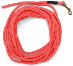 SportDOG Brand Orange Check Cord - 30 Feet Long - Strong but Lightweight Training Tool .95