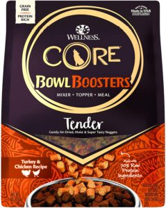 Wellness Core Natural Grain Free Bowl Boosters Pure Dog Food Mixer or Topper .49