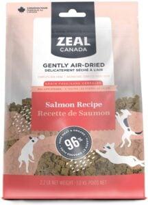 Zeal Canada air-Dried Dog Food Salmon Recipe .99