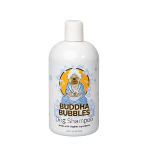 Barking Buddha Bubbles Organic Natural Shampoo for Dogs 3 Pack Gentle for Sensitive Skin with Brightening Qualities Smells Great 16 oz. Bottle .99