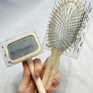 slicker brush vs pin brush