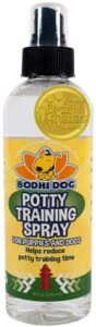 Bodhi Dog Potty Training Spray | Indoor Outdoor Potty Here Training Aid for Dogs & Puppies | Puppy Potty Training for Potty Pads | Made in the U.S.A. | 8oz .99