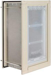 Endura Flap Wall Pet Door Energy Efficient Single Flap Dog Door 9.99