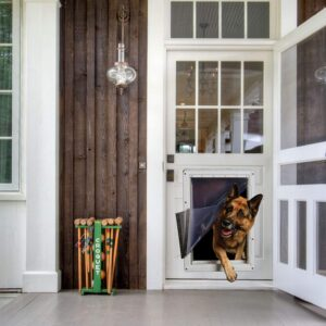 Ideal Pet Products Designer Series Ruff-Weather Pet Door with Telescoping Frame 9.51