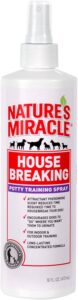 Nature's Miracle Housebreaking Spray, 16-Ounce .69