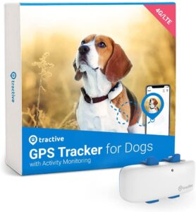 Tractive LTE GPS Dog Tracker - Location & Activity Tracker for Dogs with Unlimited Range .99
