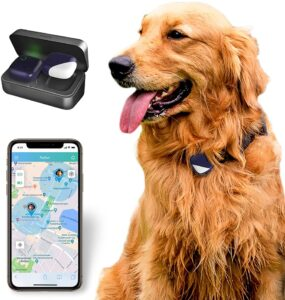 PETFON Pet GPS Tracker, No Monthly Fee, Real-Time Tracking Collar Device, APP Control For Dogs And Pets Activity Monitor 9.99