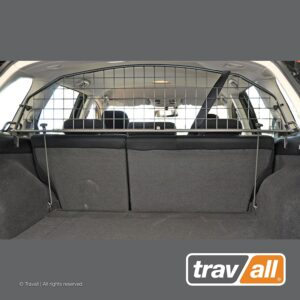 Travall Guard Compatible with Subaru Outback and Legacy Wagon (2009-2014) TDG1182 - Rattle-Free Steel Vehicle Specific Pet Barrier 5