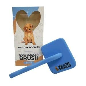 slicker brush and box