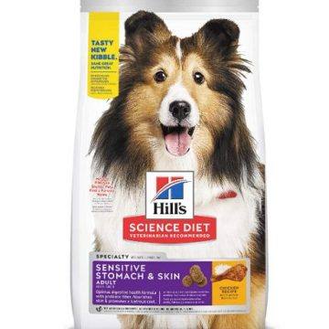 Hill's Science dog food for shedding