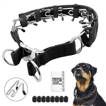 Mayerzon prong dog collar for large dogs that pull