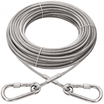 Xiaz large dog runner tie out cable