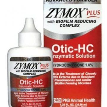 Zymox plus OTIC-HC hydrocortisone picture