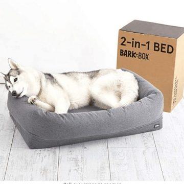 barkbox dog bed for dog with arthritis