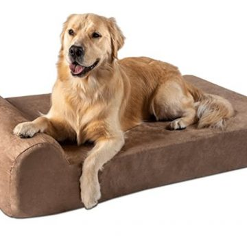 big barker dog bed for dog with arthritis